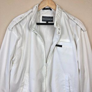 Members Only Cllassic Vintage Moto Style Jacket